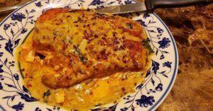Keto Salmon Meal