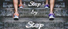 step by step on keto